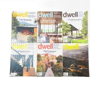 Dwell magazine bundle 2017 2018 2019